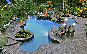 Design Ideas - Tropical Poolscapes